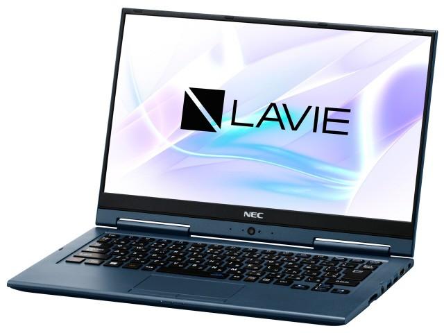 【人気沸騰】 ZERO ノートパソコン LAVIE Hybrid HZ550/LAL [インディゴブルー] PC-HZ550LAL NEC-パソコン本体