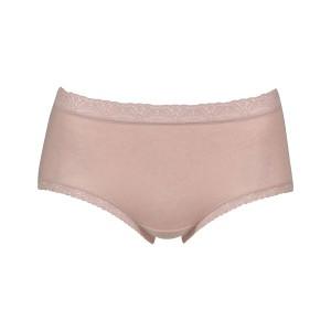 20%OFF (ワコール)Wacoal (ディアヒップショーツ)DearHip Shorts 綿混 はきこみ丈ふつう ノーマルショーツ LL