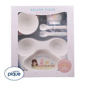 (ジェラートピケ キッズアンドベイビー)gelato pique Kids&Baby baby 食器SET ジェラピケ