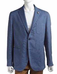 ハイドロゲン HYDROGEN ジャケット テーラードジャケット メンズ 140315 BLUE AVIO 送料無料の画像