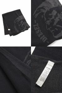 ディーゼル【DIESEL】マフラー/K-DUBO SCARF(00SCKK 0NABQ)ブラック