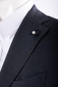 【送料無料】2016年春夏新作/ラルディーニ【LARDINI】スーツ/3つボタン/サイドベ(EA801AQ 46498)