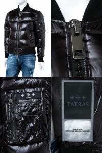 タトラス TATRAS ダウンブルゾン ダウンジャケット ブラック メンズ (MTK18A 447) 送料無料