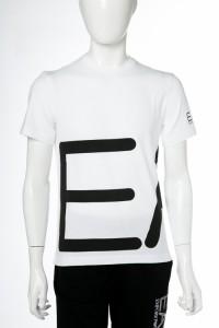 エンポリオアルマーニ Emporio Armani EA7 Tシャツ ホワイト メンズ (6YPTB8 PJH7Z) 送料無料