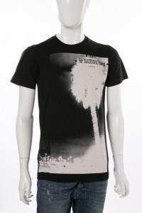 ディーゼル DIESEL Tシャツ ブラック メンズ (00SYRC 0CAOX)