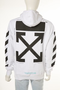 OFF-WHITE sweat Nebraska パーカー メンズ