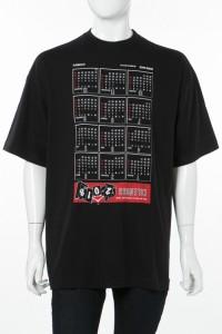 ヴェトモン Vetements Tシャツ ブラック メンズ (MSS18TR32) 2018年春夏新作 送料無料
