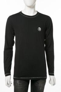 ディーゼル DIESEL ロングTシャツ ブラック メンズ (00CP7C RTARI)