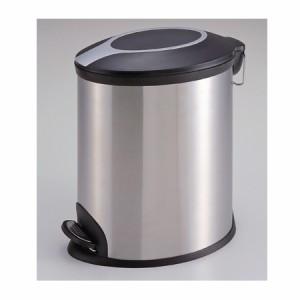 パール金属 ゴミ箱 ステンレススリムペダルペール 12L H-2373