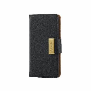 エレコム iPhone6s/6用ソフトレザーカバー/スナップ/ブラック PM-A15PLFBBK(支社倉庫発送品)