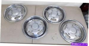 """Wheel Covers Set of 4 1960年代1970年代のトラックホイールキャップハブは、4 15"""" のホイールカバーマグ模擬セットのキャップ 1"""