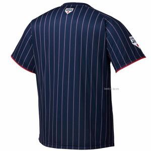 【即日出荷】 アシックス 侍ジャパン 少年用 ユニフォームTシャツ メンズ ビジター BAT72J ウェア 野球部 夏 練習着 運動 トレーニング
