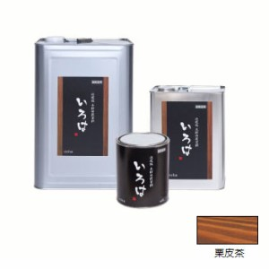 アールジェイ いろはカラー (内外装用自然塗料) 栗皮茶色 3.5L ※取寄品 YT-03