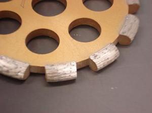 アイウッド ダイヤモンド溝入れカッター 最速8mmU字形 105mm×8mm 89735