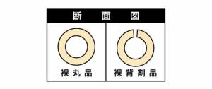 MF カブセール(背割品) 内径10mm×外径24mm×7mmt×長さ2m(120本価格) メーカー直送品代引利用不可 B10