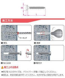 サンコーテクノ ハードエッジドライブ ステンレス HDW-Sタイプ HDW-425S(1パック・220本価格) HDW-425S