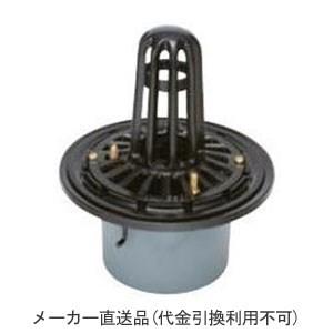 カネソウ 鋳鉄製ルーフドレイン たて引き用 打込型 屋上用(呼称50) ※メーカー直送代引不可 ESP-1-50