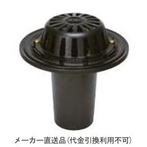 カネソウ 鋳鉄製ルーフドレイン たて引き用 一般型 バルコニー 庇・屋上用(呼称65) ※メーカー直送代引不可 ESR-3-65
