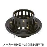 カネソウ 鋳鉄製ルーフドレイン たて引き用 木付け用 バルコニー中継用(呼称100) ※メーカー直送代引不可 EWSB-2-100