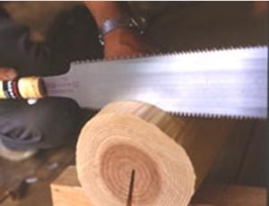 キジマ キジマソー 両刃小目鋸 8寸の7寸目 210mm 本体 305-8