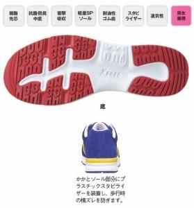 ジーベック 安全靴 ローカットノンメッシュ・セフティシューズ 26.5cm レッド 85110
