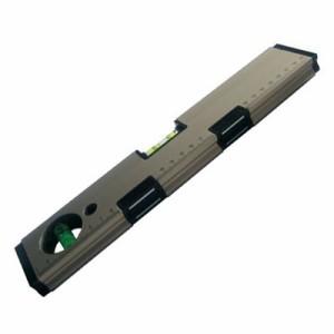 ブロンズミ水平器  (マグネット付・380mm)()