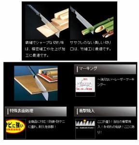 玉鳥 レザーソー 180 導突(替刃・180mm) S-297