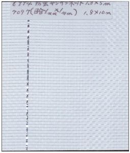 GS(キンボシ) 防虫サンサンネット 1.35m×5m ※取寄品 7096