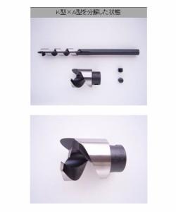 クメダ 二段錐24mm×7mm(軸径9mm) 042407