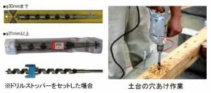 スターエム ドリルビット 15.0mm×290mm NO.4-150