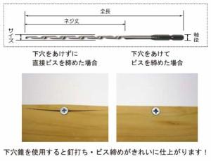 スターエム 六角軸ロング下穴錐 6mm×180mm 75L-060