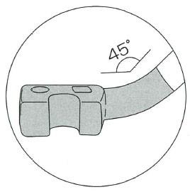 モクバ鉄筋曲棒(S型ロング) 16mm×500mm(D-14)