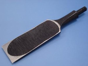 小山金属工業所 叩き・穴屋・差しのみ用 共通替刃(合金鋼) 42mm