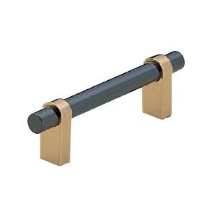 シロクマ キャビネハンドル 300 黒ニッケル 1本価格 ※メーカー取寄品 HB-77