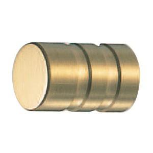 シロクマ 真鍮アーバンツマミ 15mm サテンゴールド 1箱30個価格 ※メーカー取寄品 KB-88