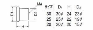 シロクマ オレゴンツマミ 25mm径 AGアンティークゴールド塗装 1箱30個価格 ※メーカー取寄品 KZ-10