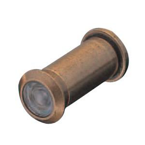 シロクマ 真鍮 ドアスコープ 15mm径 仙徳 1箱10個価格 ※メーカー取寄品 NO-5