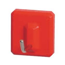 シロクマ eフックS形 28(XS)赤 1箱60個価格 ※メーカー取寄品 C-5C