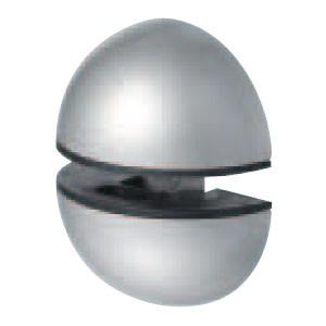 シロクマ 棚グリップJ形 S シルバー 1個価格 ※メーカー取寄品 TG-8