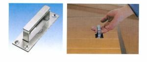 水本機械 グレーチング金具 上げ蓋取手 1個価格 GCT-1