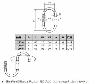 水本機械 ステンレス金具 Jリンク 20個価格 ※取寄品 JP-5