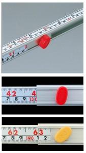 シンワ 3倍尺のび助両方向式 6尺3寸相当(尺相当目盛付)AB 65161