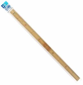 シンワ 竹製ものさし 50cm ハトメ付 71765