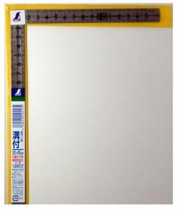 シンワ 曲尺 小型 溝付 ステン30×15cm 裏面角目 12017
