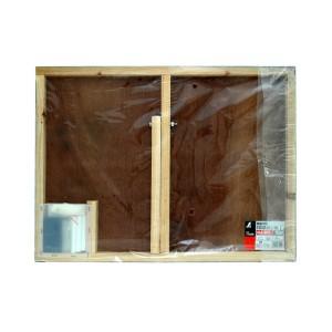 シンワ 黒板木製 450×600mm 横F 「8項目」 77069