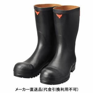 シバタ工業 安全耐油長靴 黒 32.0cm ※受注生産品 AO010