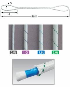 H.H.H.(スリーエッチ) ポリパワーEC-1型 青色 1.6ton×4m ※取寄せ品