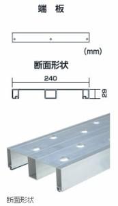 PICA 片面使用型足場板 (全長:4.00m)【メーカー直送品・代引不可】 STSH-424