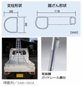 PICA 三脚脚立(植木・造園用)垂直高さ:2.03m【メーカー直送品・代引不可】 GMF-210A