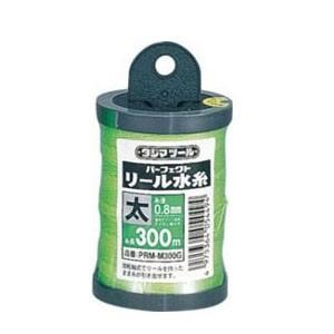 タジマ パーフェクト リール水糸 蛍光グリーン 太 PRM-M300G